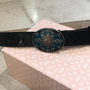 Nine West leather belt